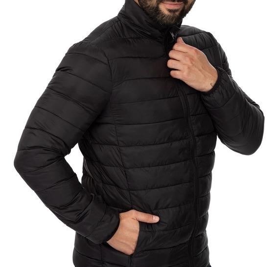 Jaqueta Masculina Ultra Leve Nylon Preta Mizu