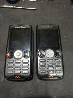 Lote 2 Celulares Sony Ericsson W810i Ler Descricao 12/18