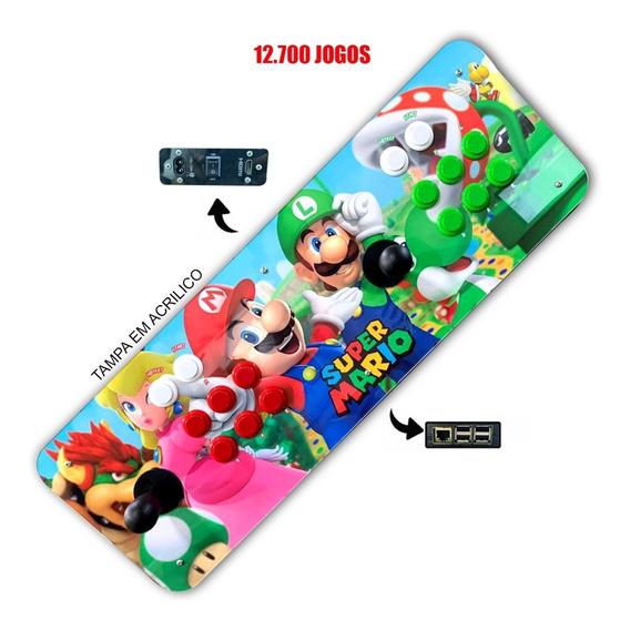 Arcade Portátil Com 12.702 Jogos