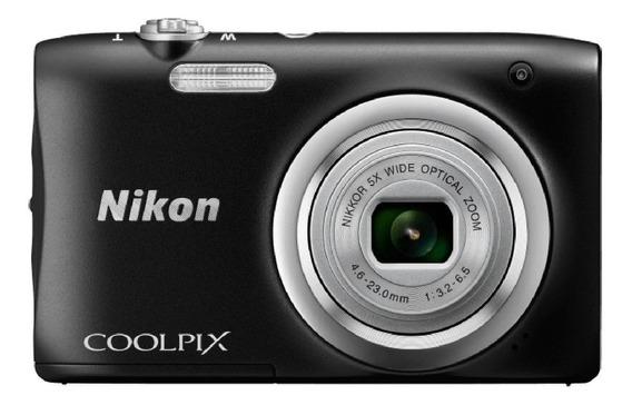 Nikon Coolpix A100 compacta cor preto
