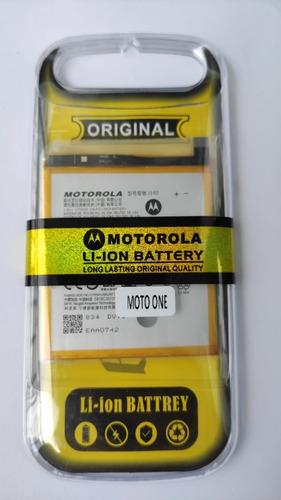 Imagen 1 de 1 de Bateria Pila Motorola Moto One Xt1941 / Je40 Alta Calidad