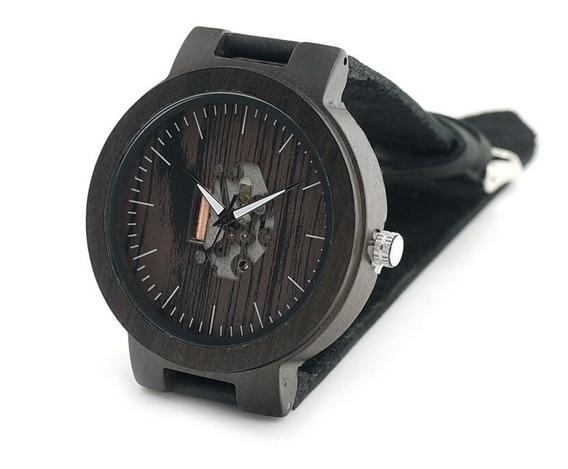 Reloj Bobo Bird ® De Bambú Con Maquinaria Expuesta