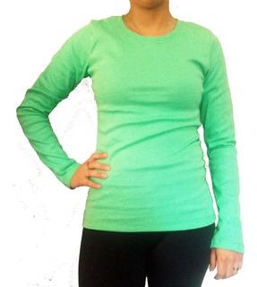 Camisetas Mujer 100% Algodón Adaptables Gruesas