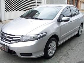 Honda City Sedan Lx 1.5 Flex Manual Prata 2013