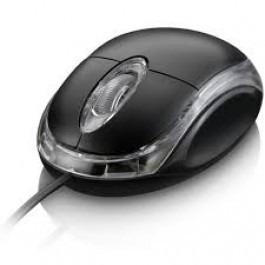 Mouse Ps2 Multilaser Mo031 Preto Novo