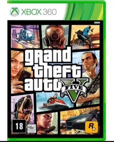 Gta 5 Grand Theft Auto Gta V Xbox 360 Midia Fisica Lacrado