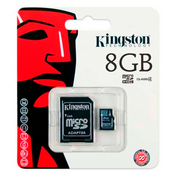 Cartao De Memoria Kingston 8 Gb Classe 10 (kc-c208g-4v)