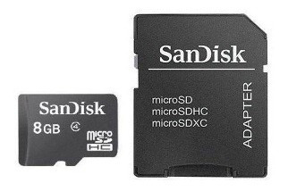 8gb Cartão Memória Micro Sandisk Lacrado Original 100%