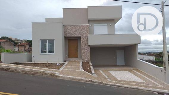 Casa Com 3 Dormitórios À Venda, 200 M² Por R$ 930.000 - Condomínio Vivenda Das Pitangueiras - Valinhos/sp - Ca3635