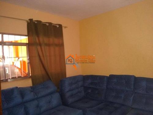 Sobrado Com 3 Dormitórios À Venda, 125 M² Por R$ 425.600,00 - Jardim Adriana - Guarulhos/sp - So0759