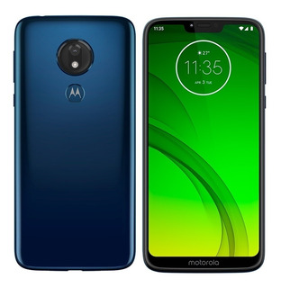 Celular Moto G7 Power Xt1955 32gb Marine Blue - Vitrine