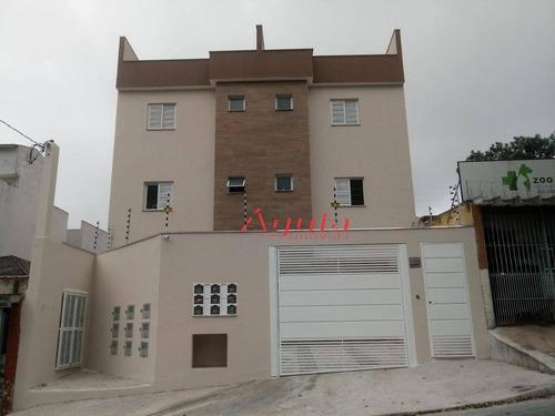 Cobertura Com 2 Dormitórios À Venda, 48 M² Por R$ 345.000,00 - Parque Novo Oratório - Santo André/sp - Co0653