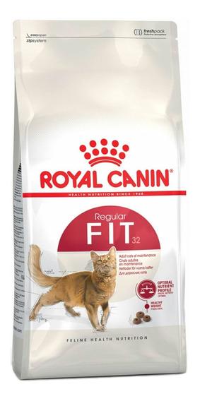 Alimento Royal Canin Feline Health Nutrition Fit 32 gato adulto 15kg