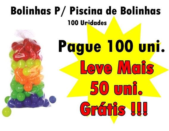 Bolinhas Para Piscina Pacote C/100un Ganhe Super Brinde