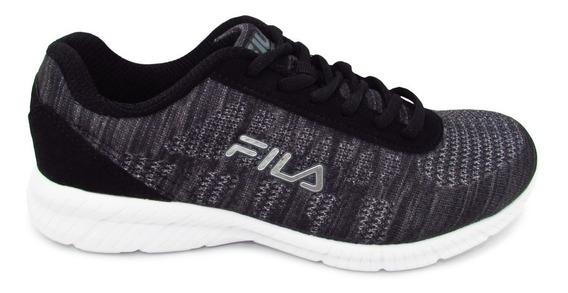 Tenis Fila Memory Track Knit 5rm00132-002 Blk/dksh/dksv