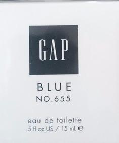 Perfume Gap Blue 655 Feminino 15ml Original