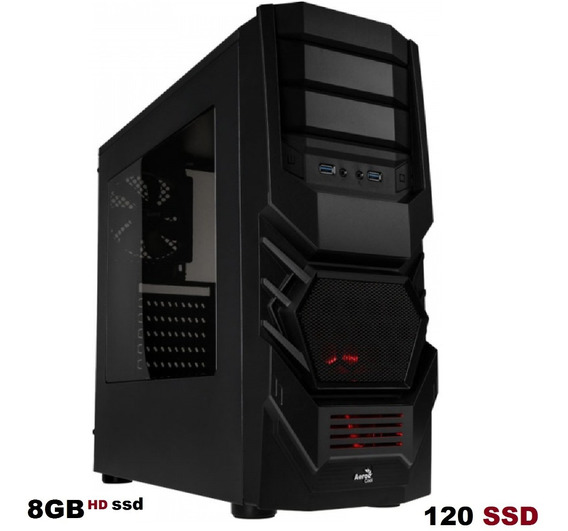Cpu Gamer Barato Amd A6 7480 8gb Hd Ssd 120 Gb
