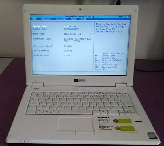 Netbook Intelbras N6000w - Uso De Peças - Leia - Ver Vídeo