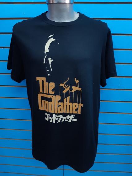 Playera Locky Brand Tematica The Godfather L-grande Nuev Ori