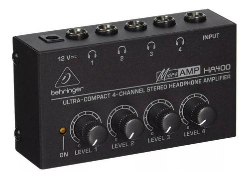 Amplificador De Auriculares Behringer Ha400