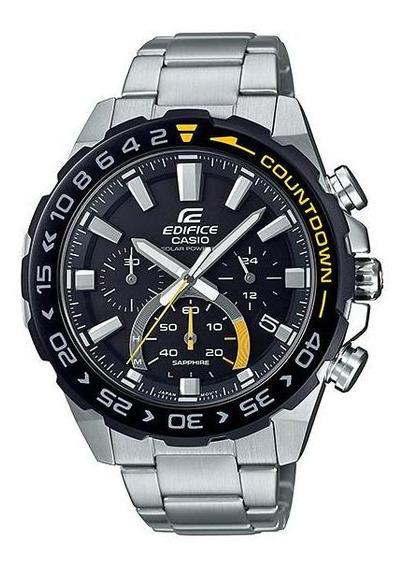 Reloj Casio Edifice Cronógrafo A Energía Solar Efs-s550db-1
