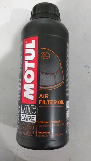 Oleo Para Filtro Ar Motul A3 1litro