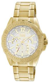 Relógio Masculino Gigante 5,5 Dourado Du6p29abt/4k Dumont