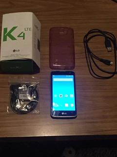 Celular Lg K4 Movistar Impecable Con Accesorios