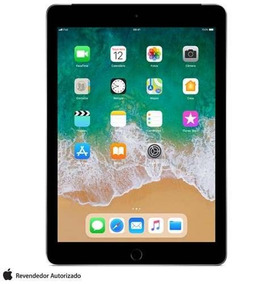 iPad Cinza Espacial Tela 9,7 4g 128 Gb A10 Mr722bz/a