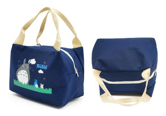 Lochera Termica, Bolsa Almuerzo Totoro Anime Azul