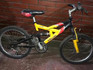 Bicicleta Musetta Ghepard Rodado 20 Con Cambios