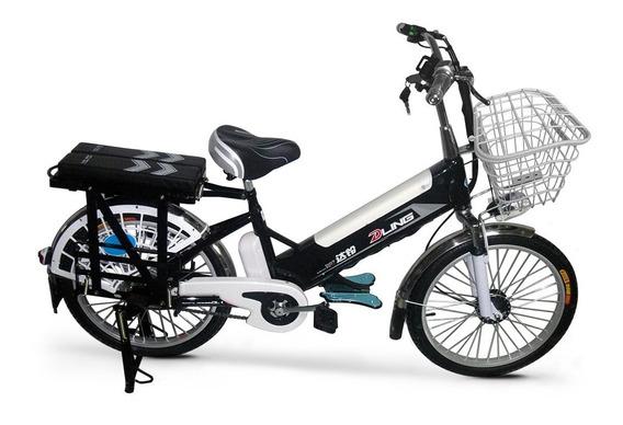 Bicicleta Electrica Dling Doble Asiento, Triple Portacajas