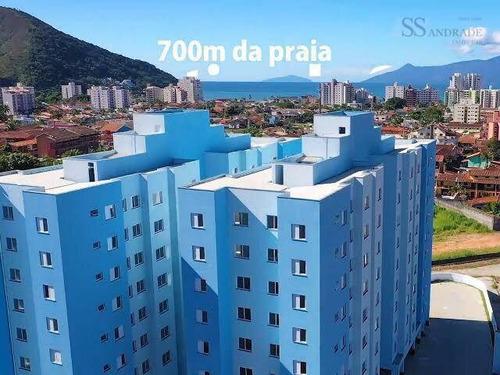 Apartamento Á 700m Da Orla Da Praia Martin De Sá - Ap0179