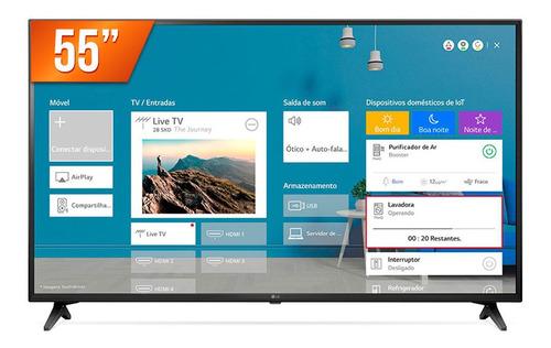 Smart Tv Led 55  Ultra Hd 4k LG 55un7100 Thinq Al 3 Hdmi