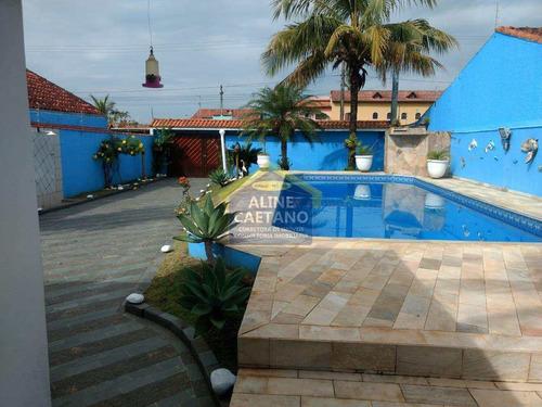 *huall Casa Lindaa Espaçosa/piscina/2dorm/suíte/2sala/itanhaém* - Vtft536