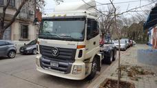 Tractor Foton Doble Eje 336 Hp Poco Uso!! Transporte Prof