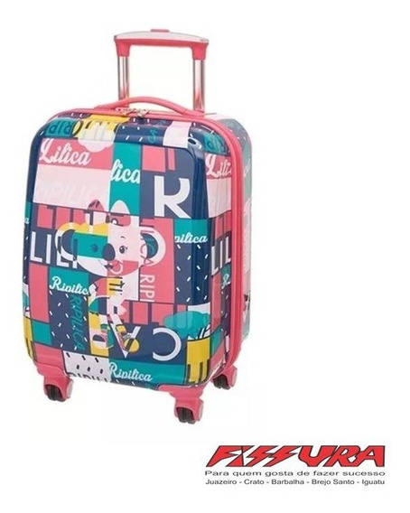 Mala De Viagem/escolar Lilica Ripilica 0201