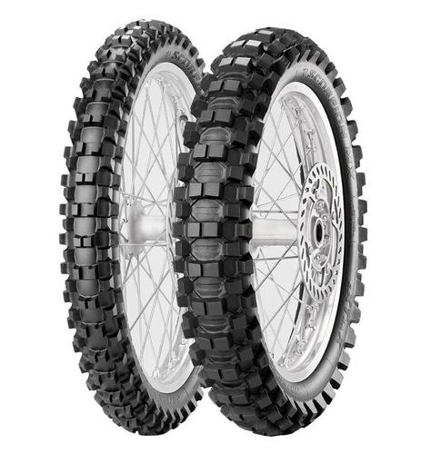 Cubiertas 80/100-21 120/100-18 Pirelli Mx Extra Cuotas