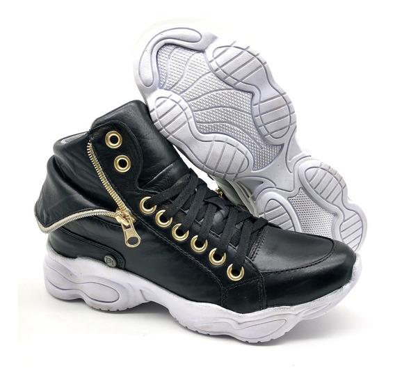 Tênis Dad Chunky Sneaker Feminina Bm Brasil 250 Preto