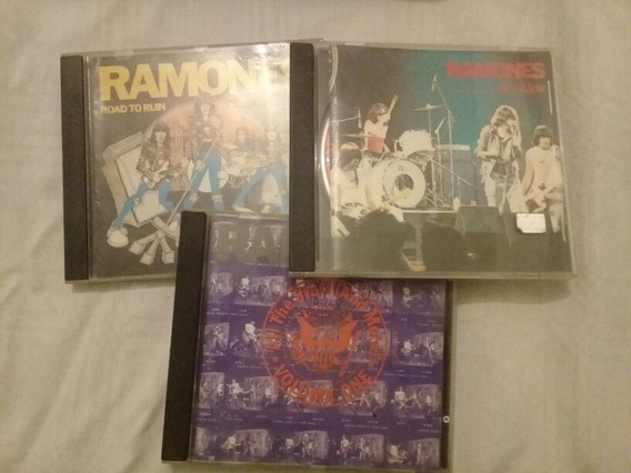 Lote 3 Cds Ramones