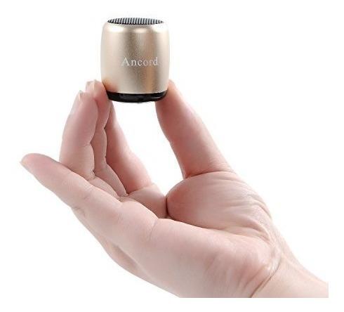 Ancord Micro Altavoz Bluetooth Tws Sistema Portátil Diminuto