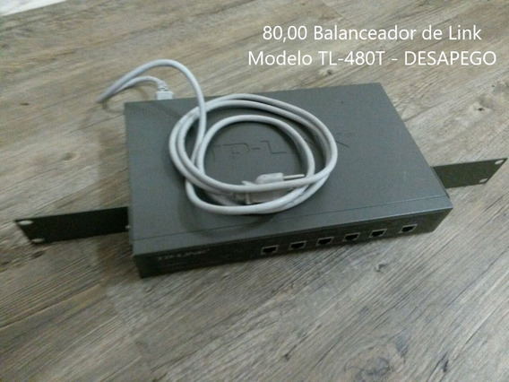 Balanceador De Link Modelo Tl-480t - Desapego