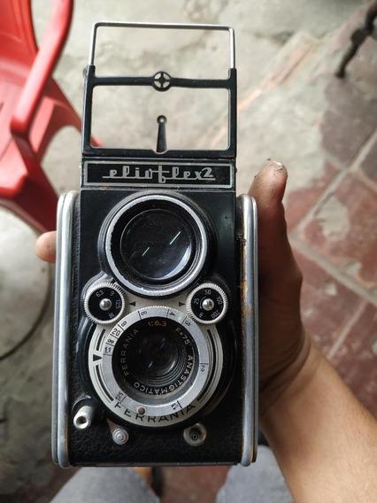 Câmera Ferrania Elioflex 2 - Ano 1952