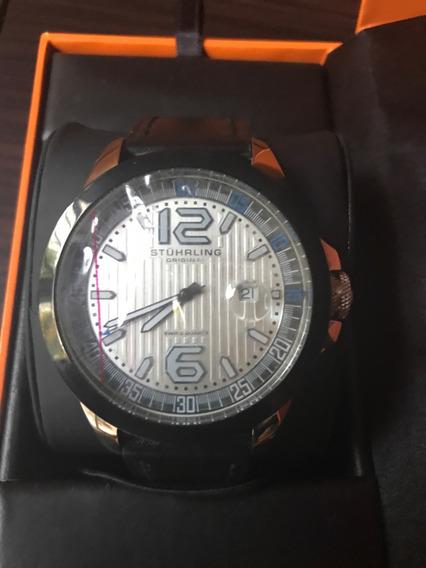 Stuhrling Original Reloj Correa De Cuero