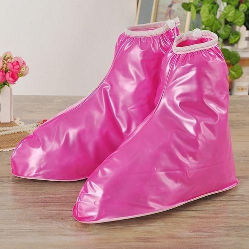 Cubre Zapatos Impermeables Para Lluvia Reutilizables En Pvc
