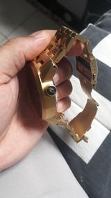 Relogio Rip Curl Detroid Automatico Dourado