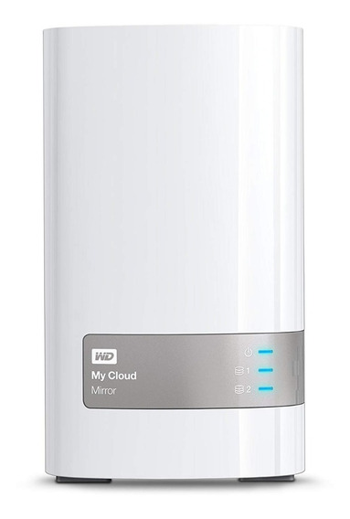 Nas My Cloud Mirror 4tb 2x 2tb Wester Digital Wd