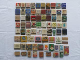 Caixas De Fósforos Antigas Lote Com 76
