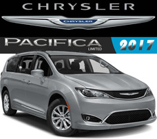 Chrysler Pacifica Limited Sunroof Piel V6 287hp 9vel Abs Rhc