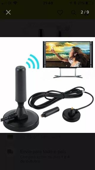 Antena Tv Digital E Dtv 3dbi Interna E Externa Pode Molhar